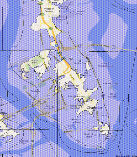 downtown-charleston-flood-zones