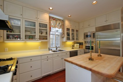 Modern kitchen with top-of-the-line appliances