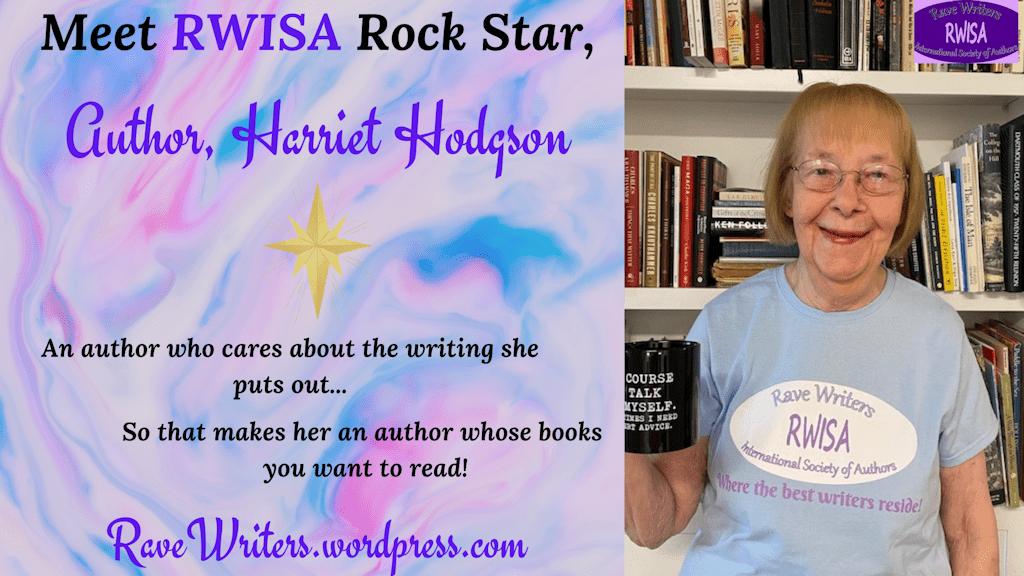 RWISA Rock Star, Harriet Hodgson