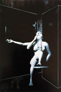 Smoking Women #1| The Art of Charley Brown