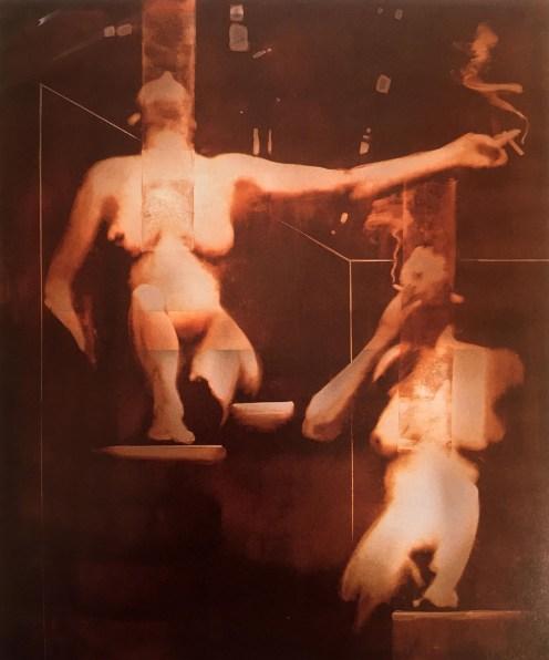 Smoking Women #2 | The Art of Charley Brown