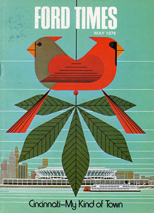Ford Times  | May 1976 | Charley Harper Prints | For Sale