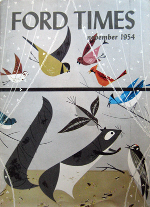 Ford Times Retrospective of Charley Harper | November 1954 | Charley Harper Prints | For Sale