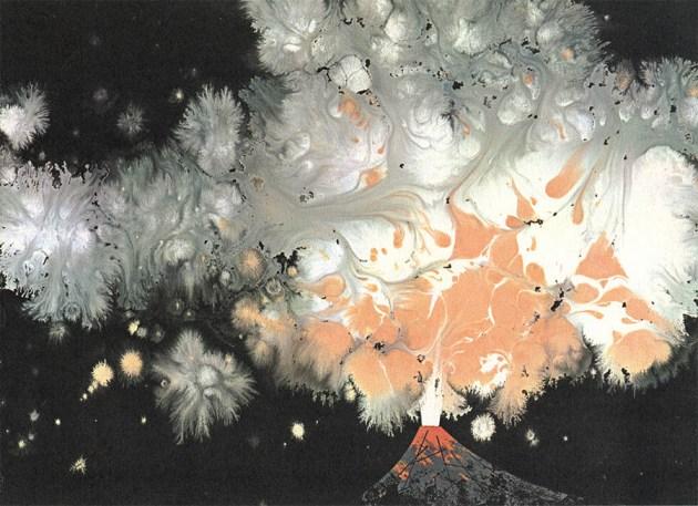 Volcano | Charley Harper Prints | For Sale
