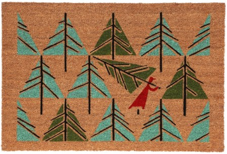 Perfect Tree door mat