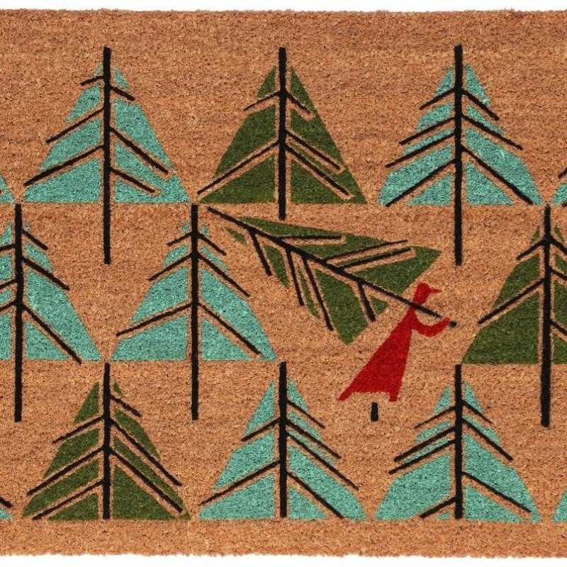 Perfect Tree door mat