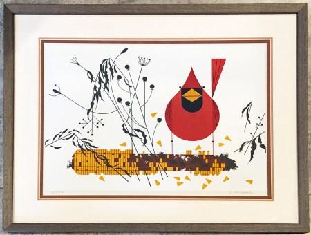 Cardinal on Corn