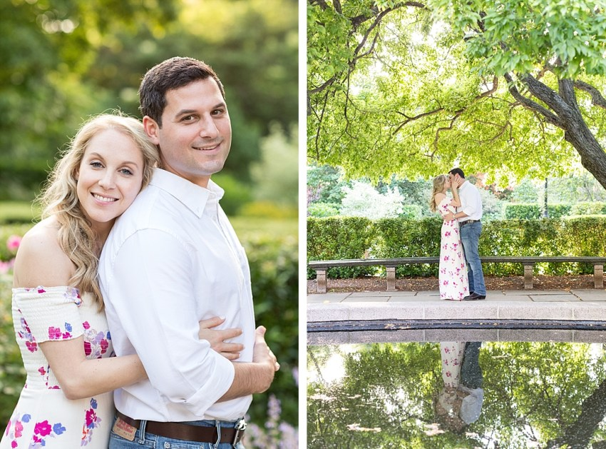Conservatory Garden Engagement, Charlie Juliet Photography