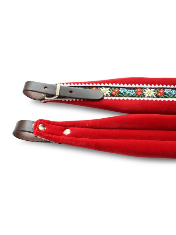 350a Red Folk accordion straps