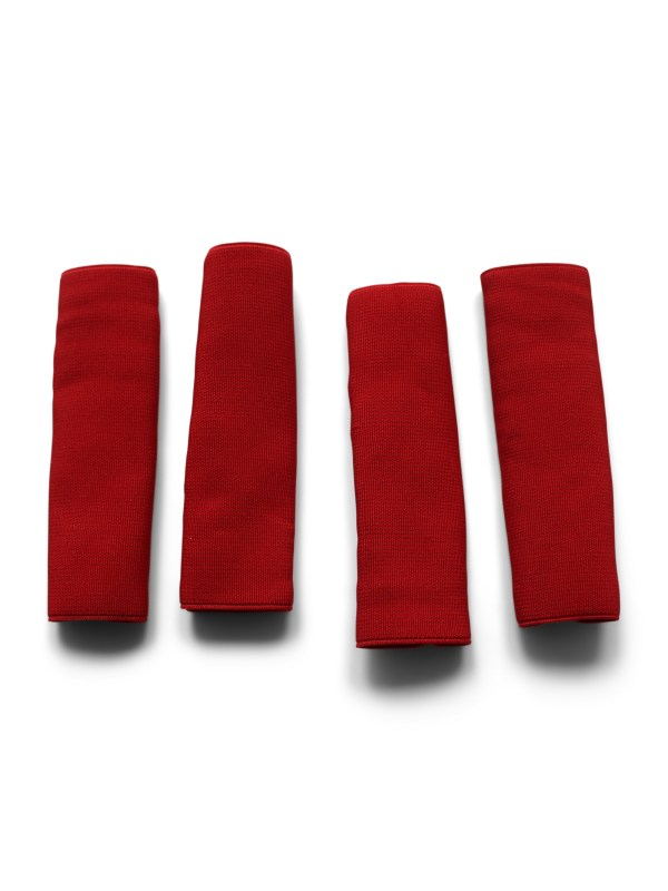 Red Accordion buckle protector