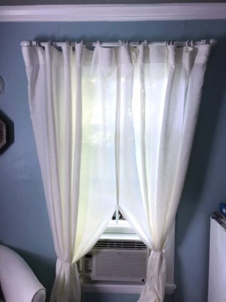 linen curtains in glade cottage let s