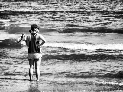 lake_runner4_bw