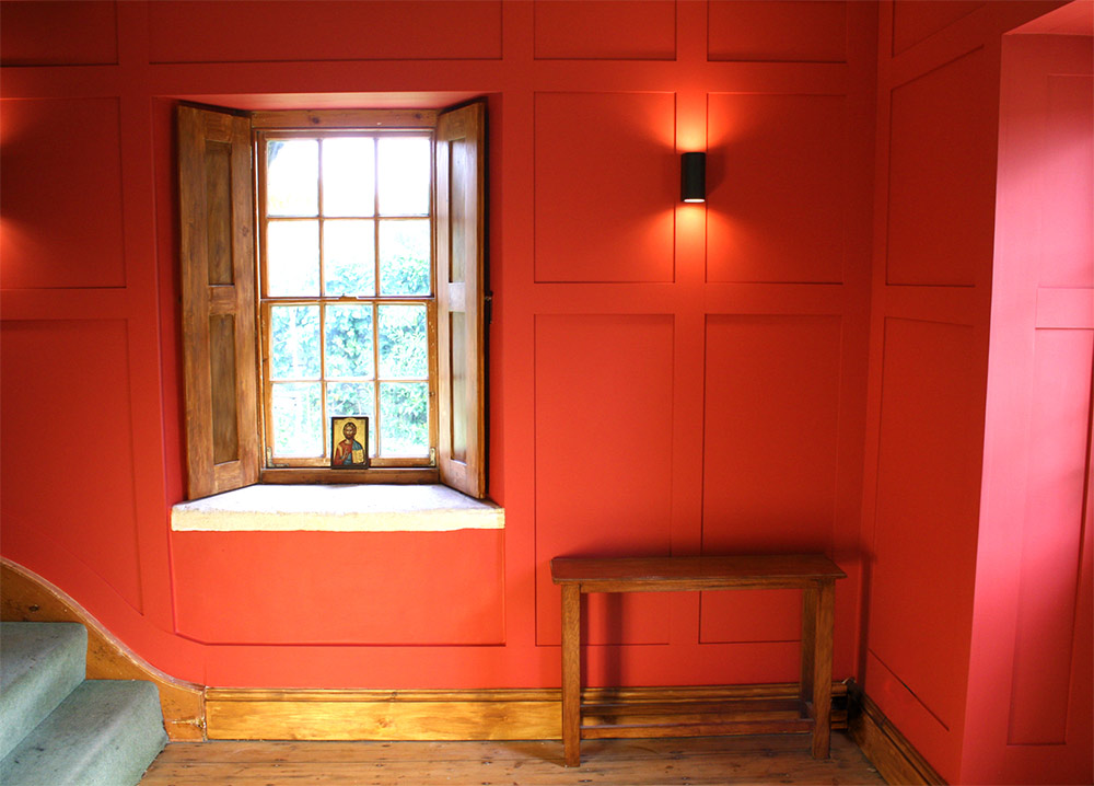 charlie-caffyn-designs-red-panelling-shutters-2