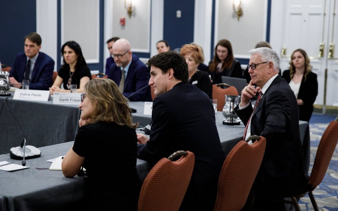 Mayor Clark in Ottawa for Western Economic Solutions Task Force;  Meets with Prime Minister Trudeau and Deputy Prime Minister Freeland