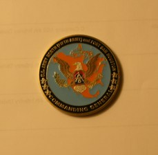 Challenge Coin - note who it is from...