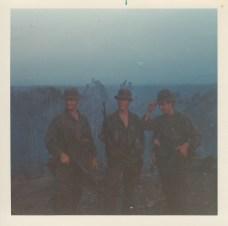 L-R; unknown, George Humphreys, Dick Snow
