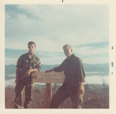 L-R; George Humphreys, Dick Snow