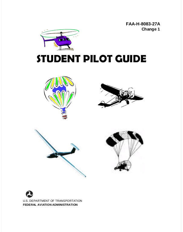 FAA-H-8083-27A Student Pilot Guide