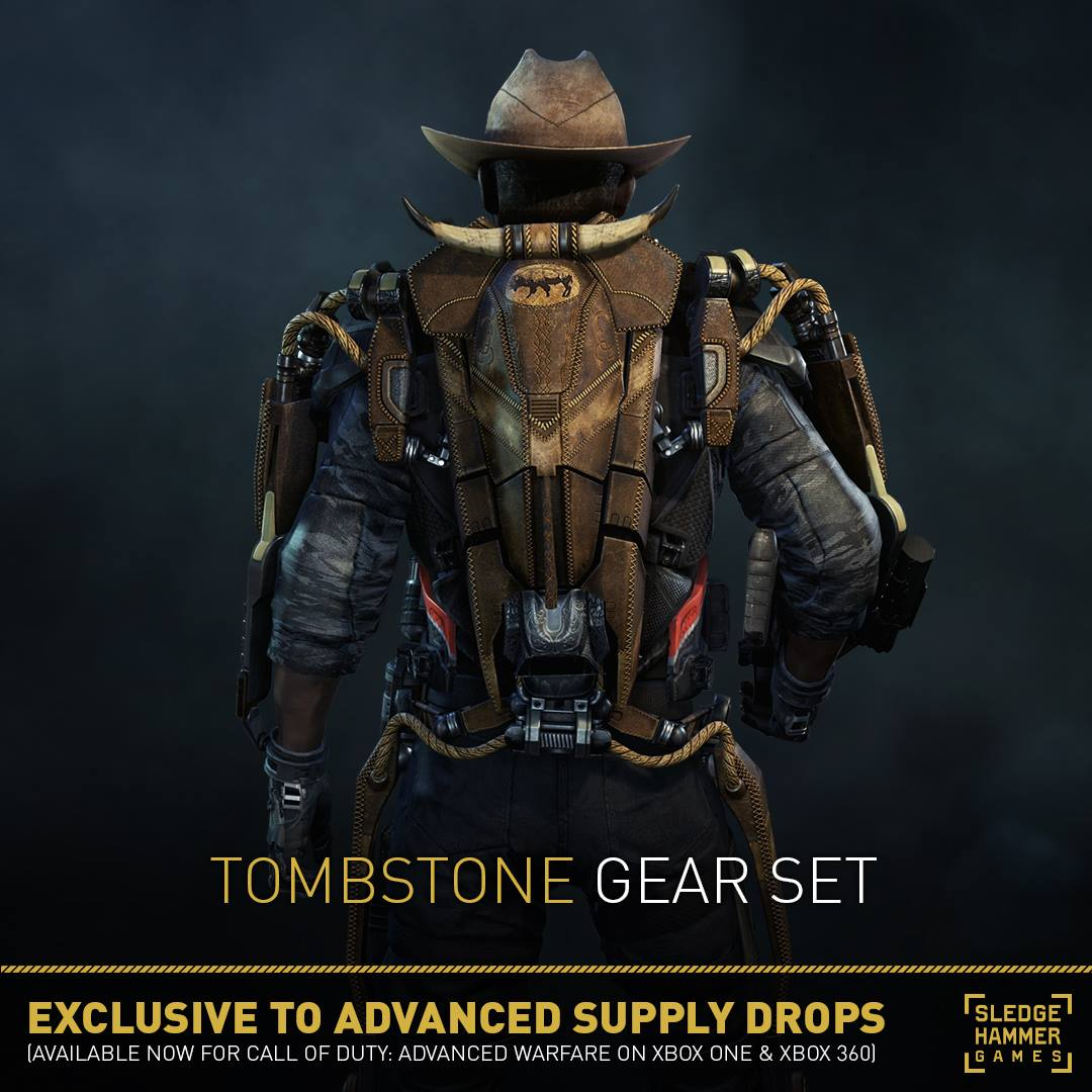 New Character Gear Biohazard Tombstone Backdraft