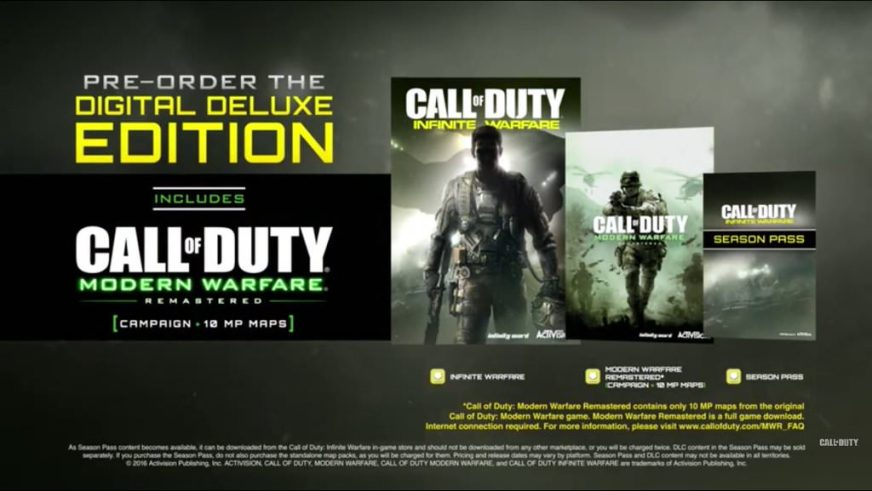 Call Of Duty Infinite Warfare Editions Announced Legacy And Digital Editions Charlie Intel