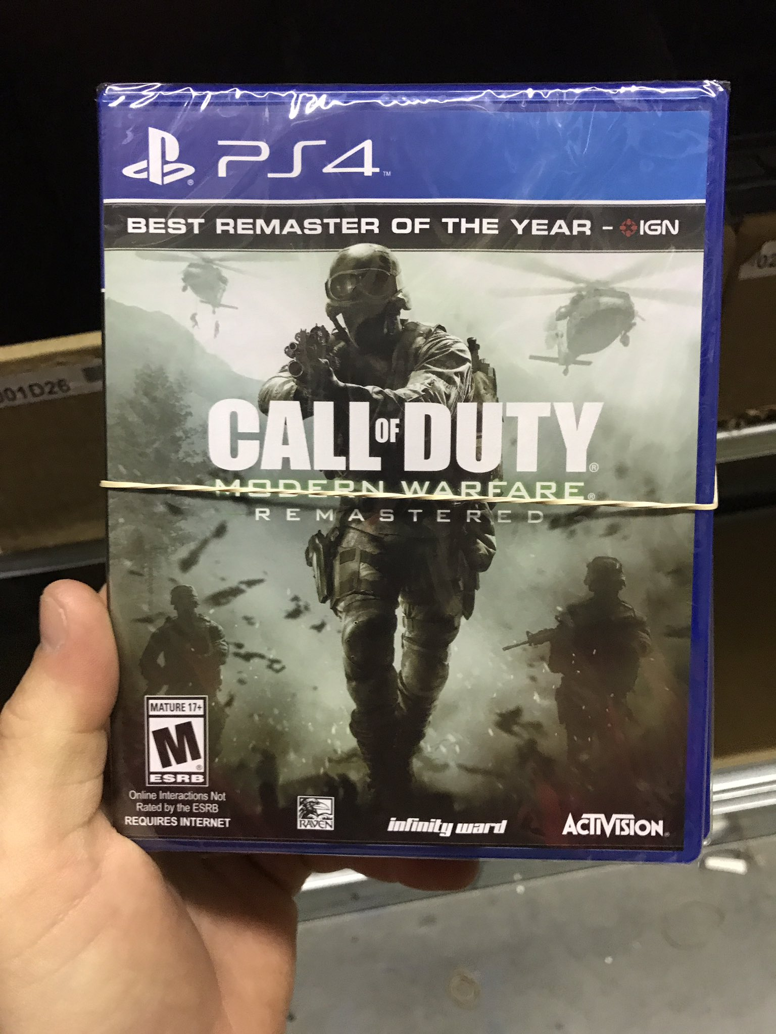 Modern Warfare Remastered Game Case Revealed Reportedly Available June 27 Charlie INTEL