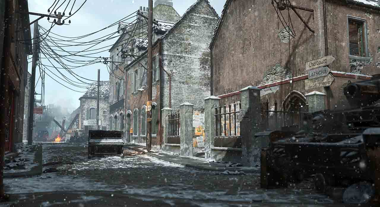 Week 4 Of Winter Siege Now Live In Call Of Duty WWII