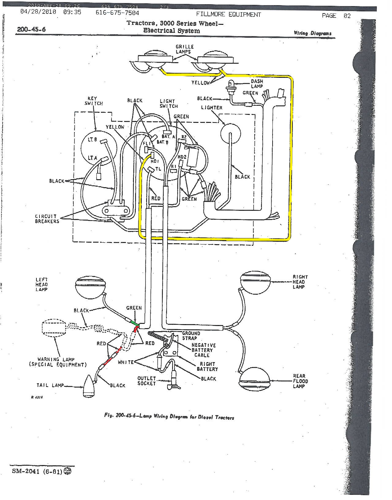 Wiring Diagram Farmall 826 Farmall 400 Wiring Diagram