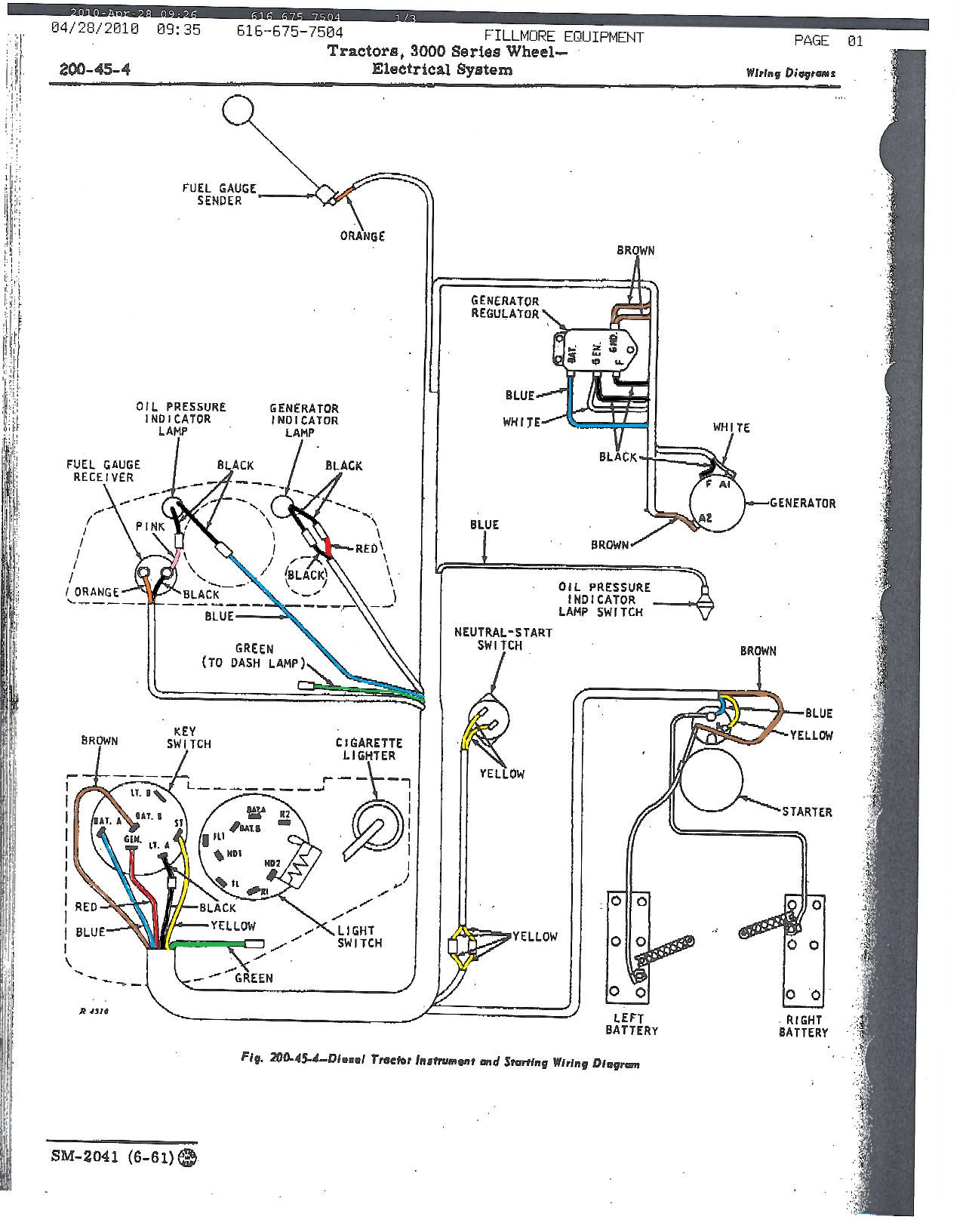John Deere Fuel Diagram