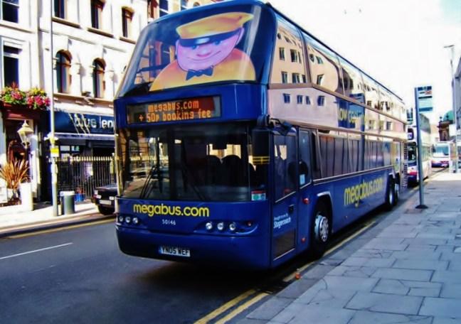 Megabus Afford Travel in the UK