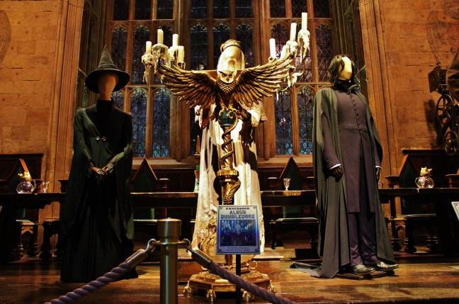 hogwarts professors hp studio tour
