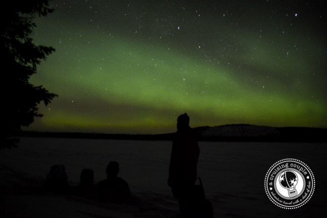 Viewing the Northern Lights in Sweden