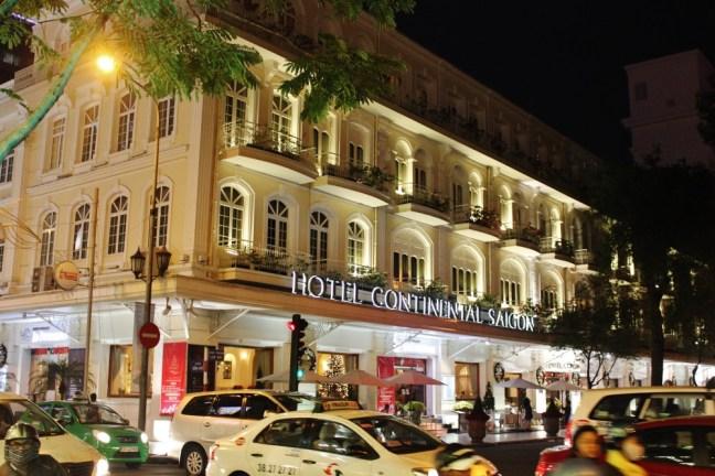 The Hotel Continental Saigon vietnam films