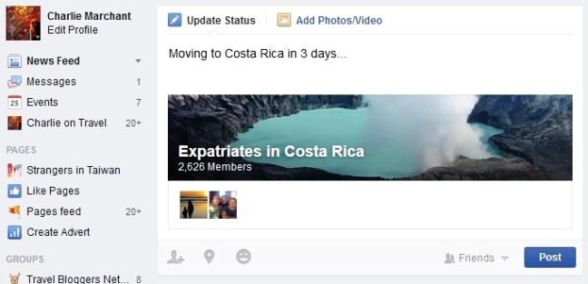 Costa Rica facebook Indefinite travel (2)