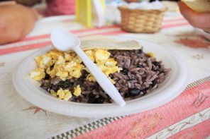 Farmer's market rice and beans