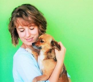 Charlie and Mamasita the dog