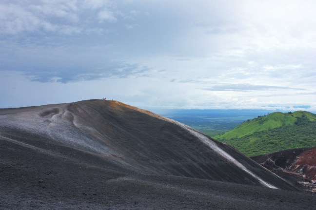 View from Cerro Negro Leon Nicaragua - Charlie on Travel