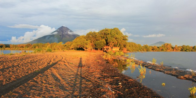 Yellow sunset at Punta Jesus Maria Ometepe Island - Charlie on Travel HEAD