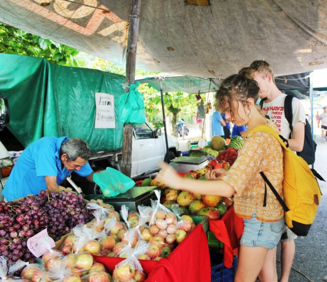 You can buy local produce for cheaper prices than the supermarkets in Costa Rica.