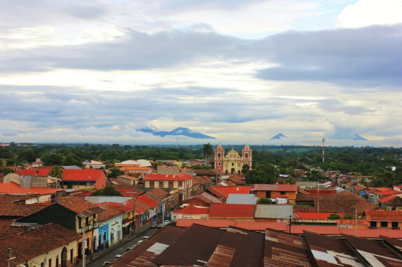 Looking out over Leon Nicaragua - Charlie on Travel