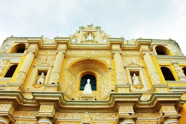 Church Antigua Guatemala - Charlie on Travel