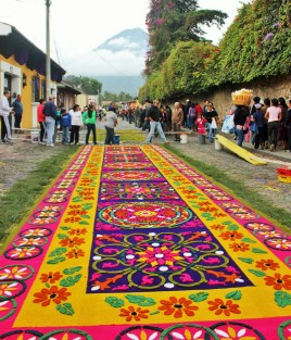 Semana santa easter week in Antigua Guatemala