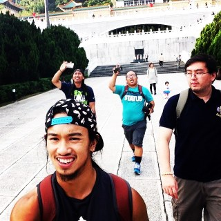 Tu at the National Palace museum