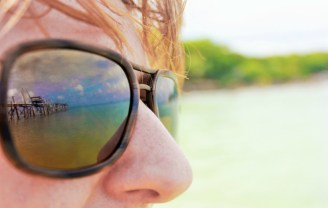 Scenic reflections in my Maui Jim sunglasses