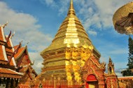 Temple in chiang mai - cost to travel Thailand - Charlie on Travel