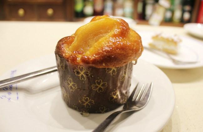 Best Patisserie in SevilleConfiteria La Campana muffin - Vegetarian in Seville - Charlie on Travel