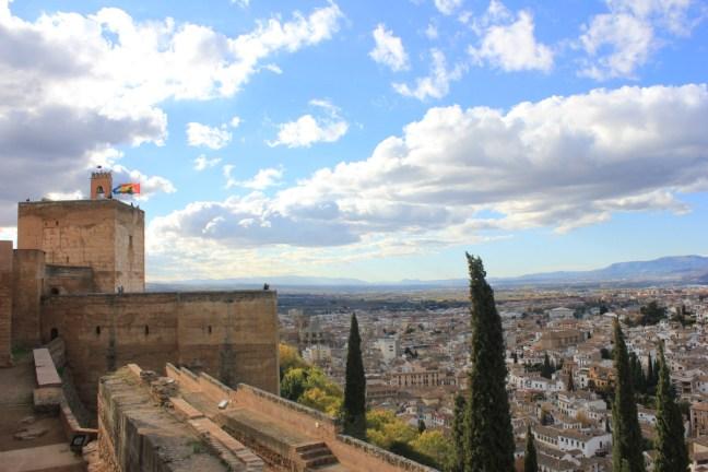 The Alcazaba Alhambra Granada Spain - Charlie on Travel