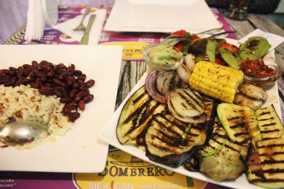 Vegan in Plovdiv Bulgaria - vegan food at Sombrero - Charlie on Travel