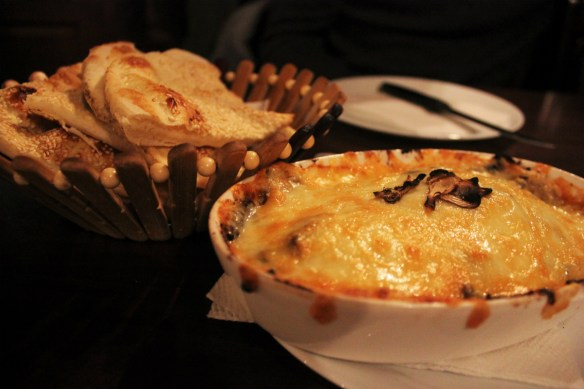 Baked cheese in Macedonia - Charlie on Travel