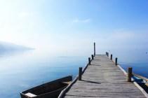 Boat at the dock Lake Ohrid Macedonia - Charlie on Travel 1200