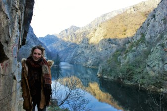 Charlie in Matka canyon Macedonia - Charlie on Travel small